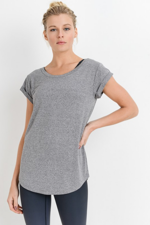 Essential Tee - Heather Gray