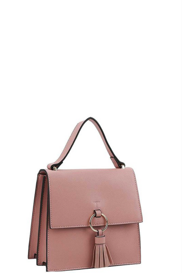 'Totally Chic' Crossbody - Mauve