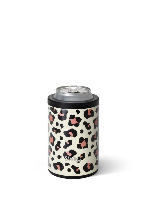 Combo Can & Bottle Cooler - Luxe Leopard