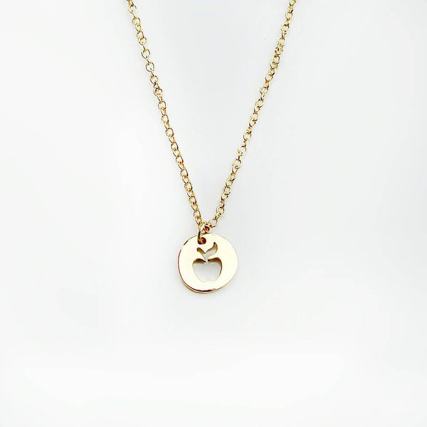 Teacher Necklace - Apple