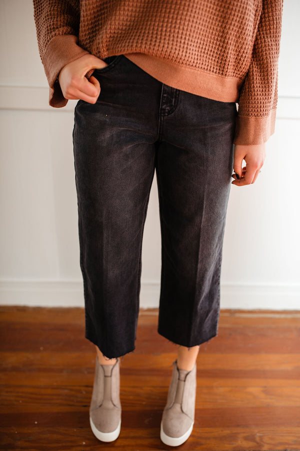 High Rise Crop Jean - FINAL SALE