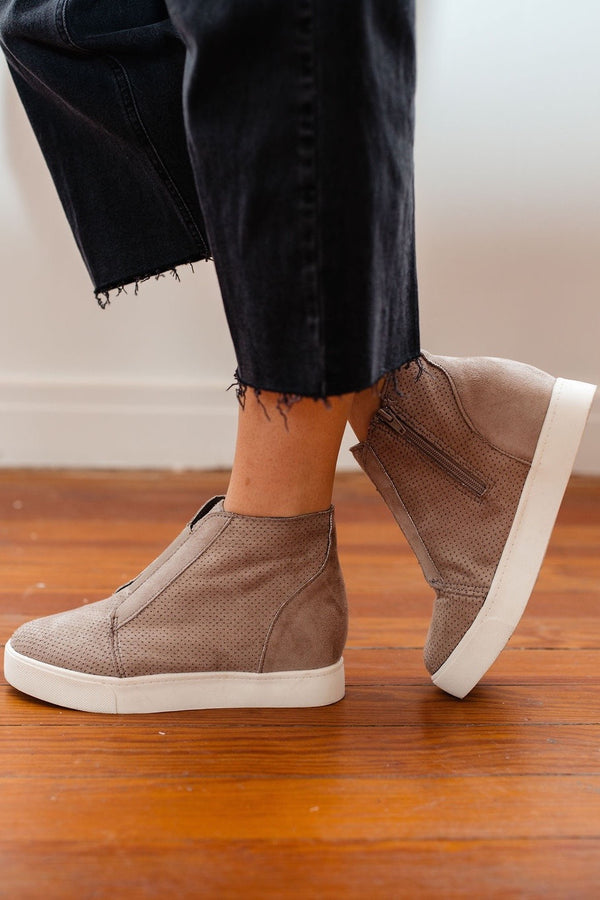 'Pointer' Wedge Sneakers