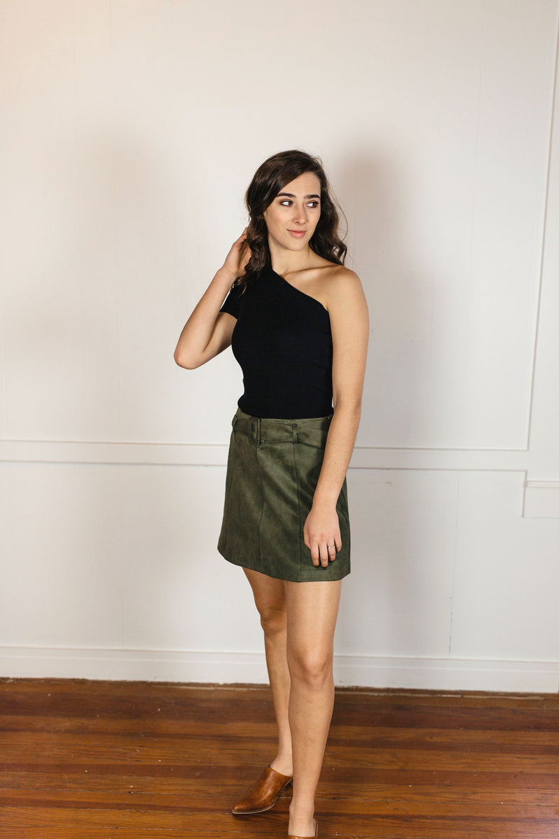 'Worth the Chase' Skirt - FINAL SALE