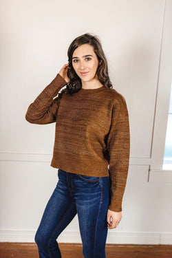 'Couldn't Be Better' Sweater - Brown