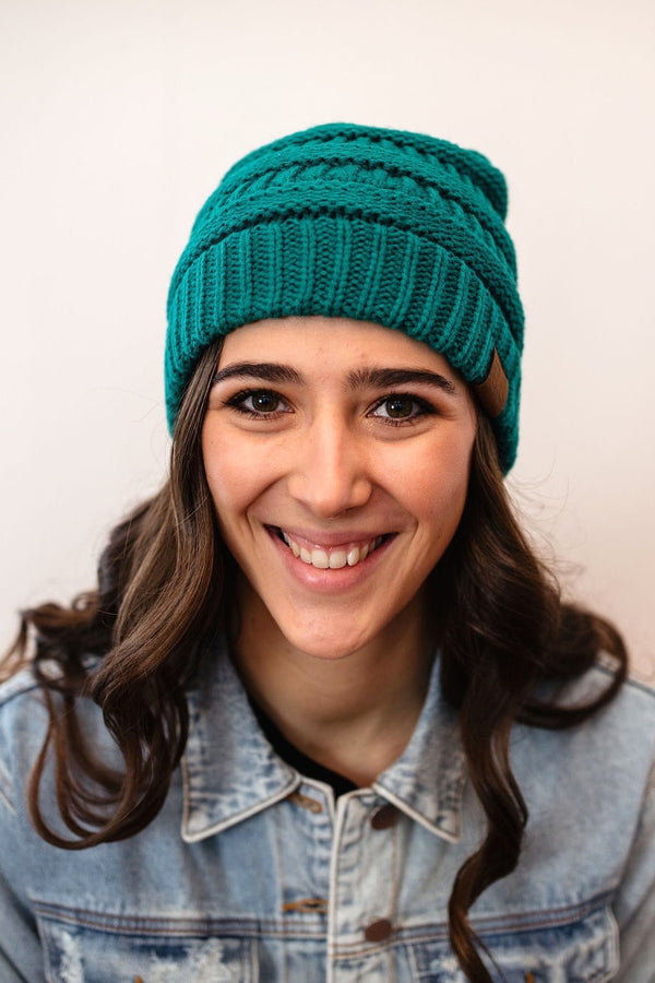 CC Beanie - Sea Green