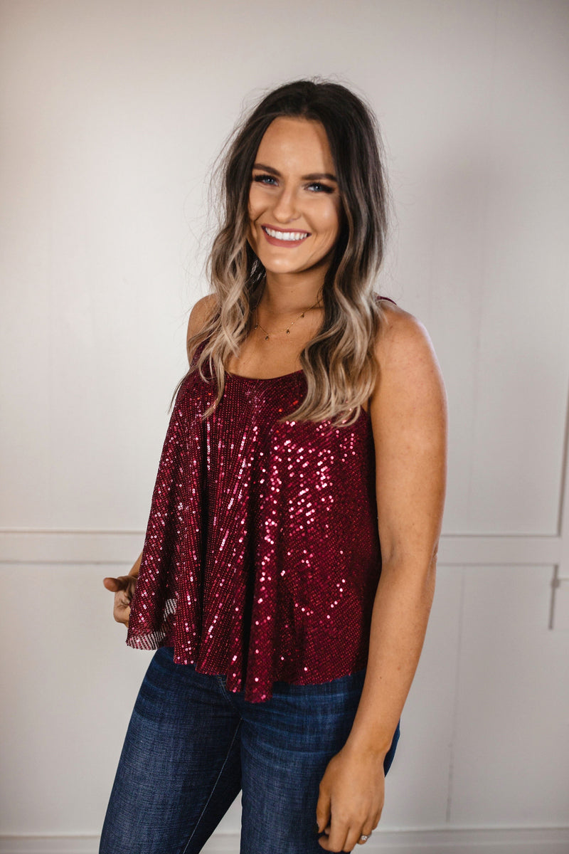 'Time to Twinkle' Top - Red