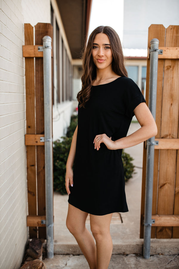 'Be With You' Dress - Black