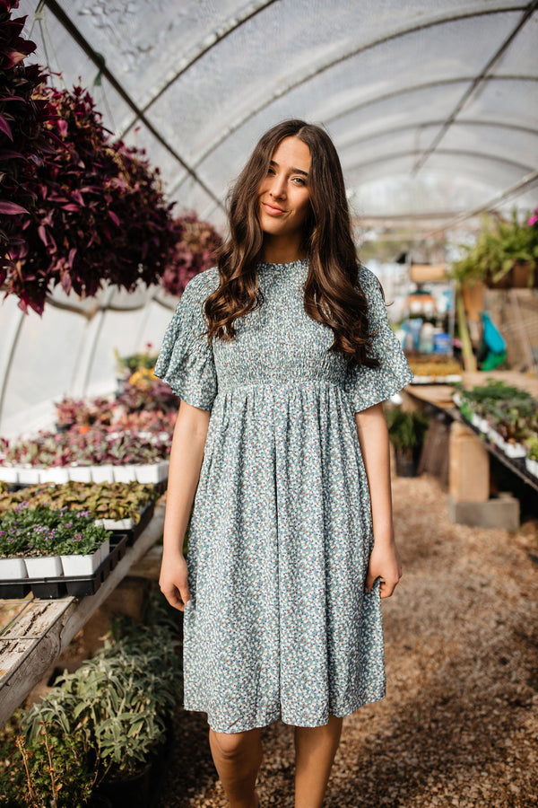 'Over + Again' Dress - Sage