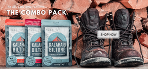 try a biltong combo pack. Biltong in 3 flavors, Original, Spicy Peri Peri, and Garlic.