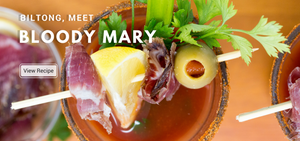 biltong on a Bloody Mary? Our favorite biltong brunch cocktail