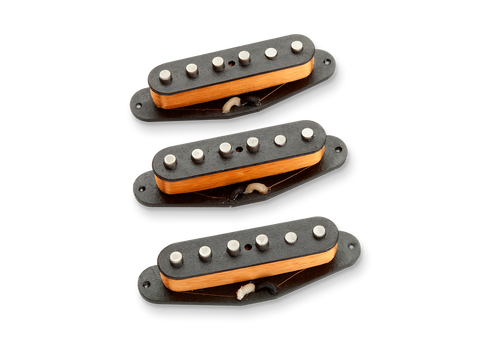 Seymour Duncan Alnico II Pro Staggered APS-1 single coils Calibrated Set Right (standard) 11204-01-Cset Top, SD photo