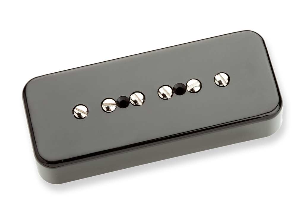 Seymour Duncan Custom Soapbar SP90-3 P90 Black Neck 11302-11-Bc Top, SD photo