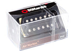 DiMarzio Air Norton humbucker black DP193 box top BW photo