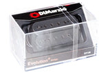 DiMarzio Evolution Bridge Black DP159 Box-top BW photo