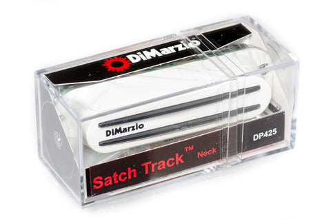 DiMarzio_Satch_Track_Neck_DP425_White_Box BW photo
