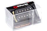 DiMarzio Super Distortion Black DP100 Box-top BW photo