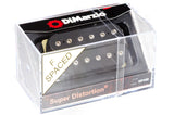 DiMarzio Super Distortion F-Spaced Black DP100 Box-top BW photo
