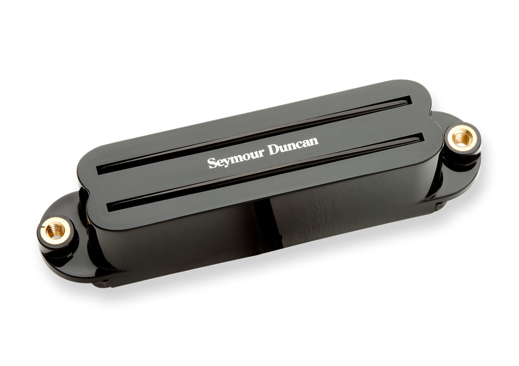 Seymour Duncan Hot Rails for Strat SHR-1 Bridge Black 11205-02-B Top, SD photo