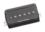 Seymour Duncan P-Rails, SHPR-1 and TBPR-1 Bridge Black 11303-02-B Top, SD photo