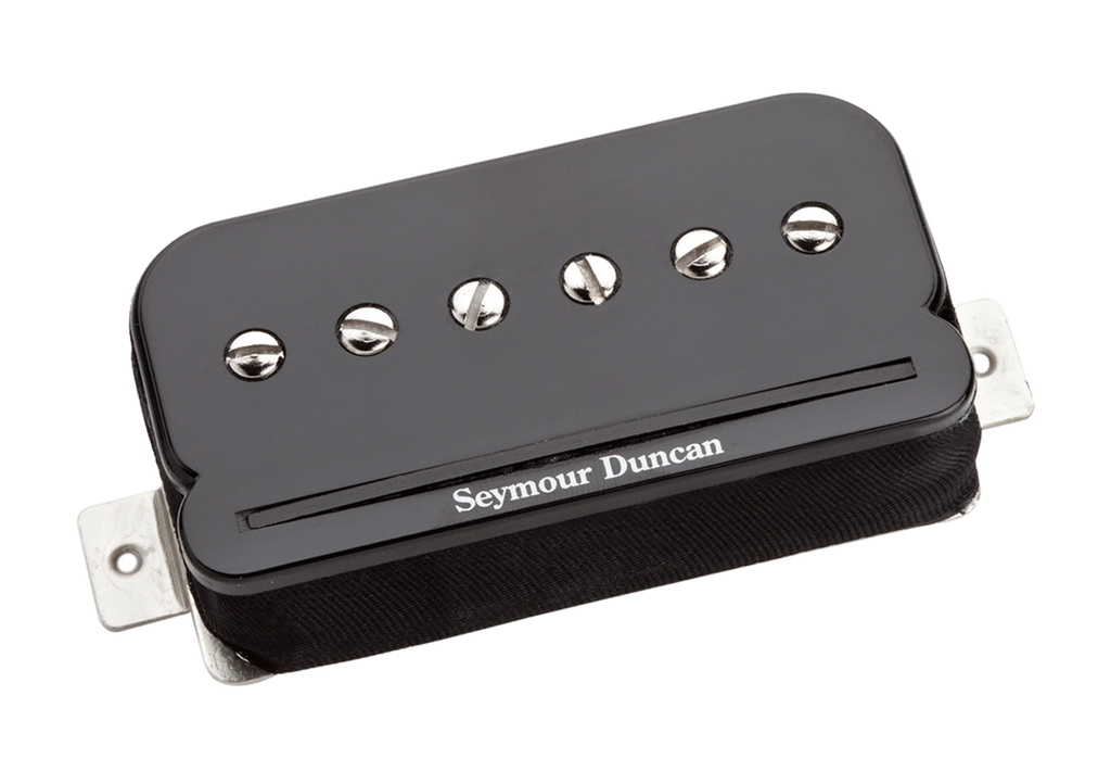 Seymour Duncan P-Rails, SHPR-1 and TBPR-1 Neck Black 11303-01-B Top, SD photo