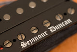 Seymour Duncan Black Winter humbucker logo detail BW photo
