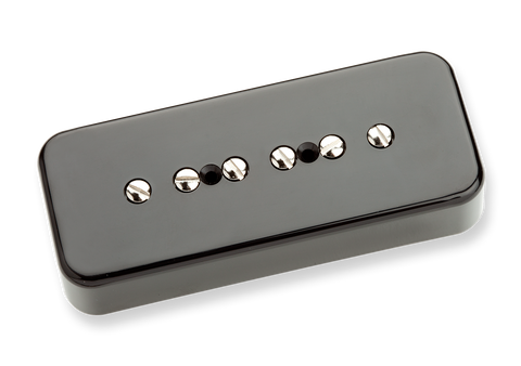 Seymour Duncan Vintage Soapbar SP90-1 P90 Black Bridge 11301-06-Bc Top, SD photo