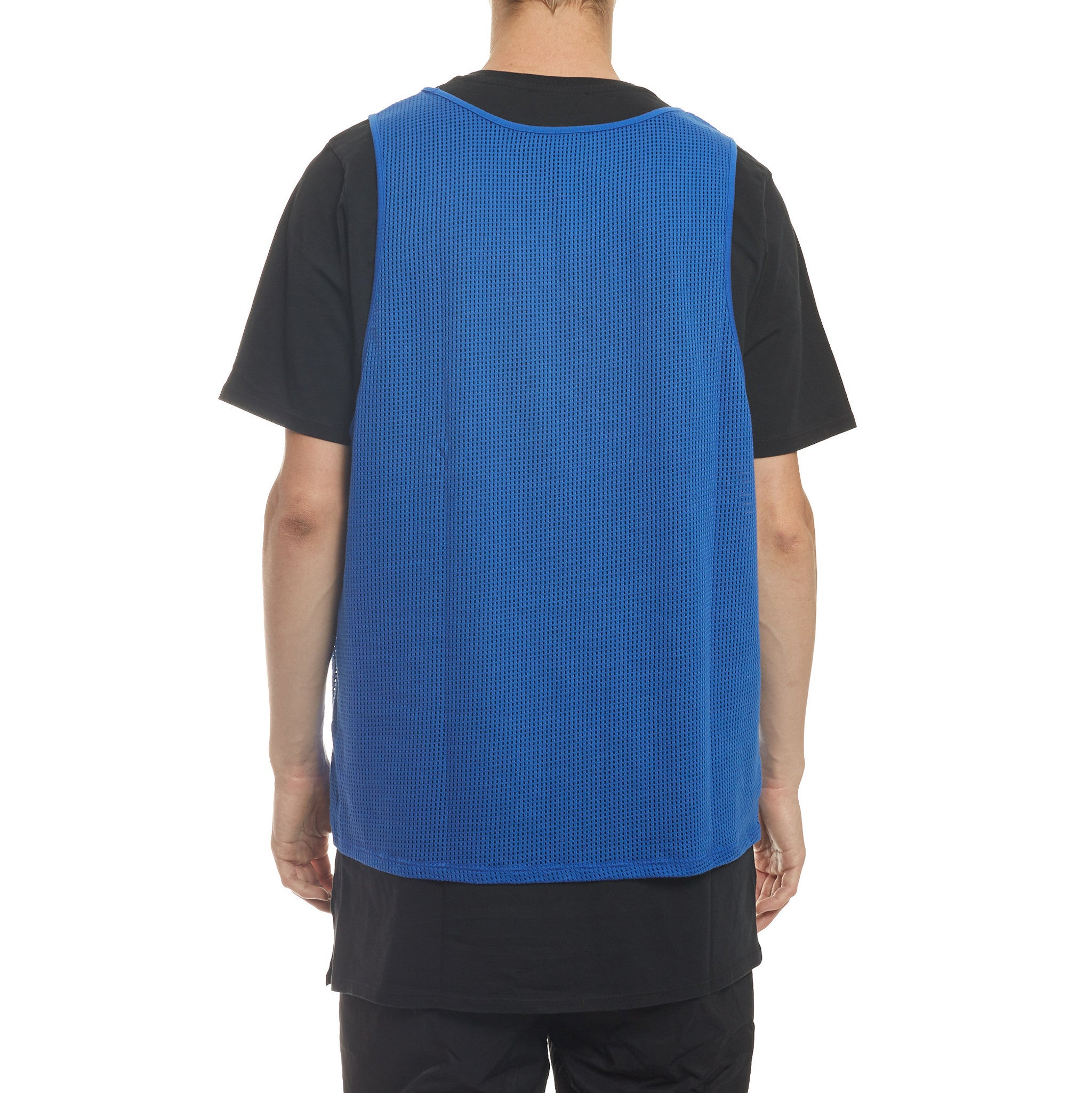 S/S Tee Mesh Slight Overlay