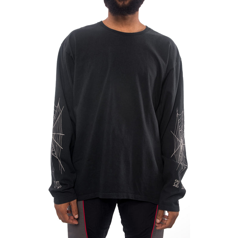 Rhude Spider Web Long Sleeve Shirt