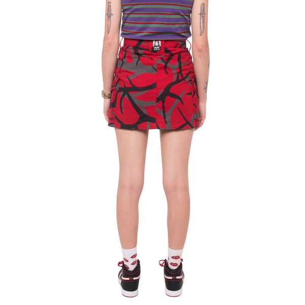 X-Girl x MadeMe MID-RISE Mini Skirt