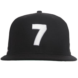 COMPOUND NEW ERA '7' BLACK SNAPBACK