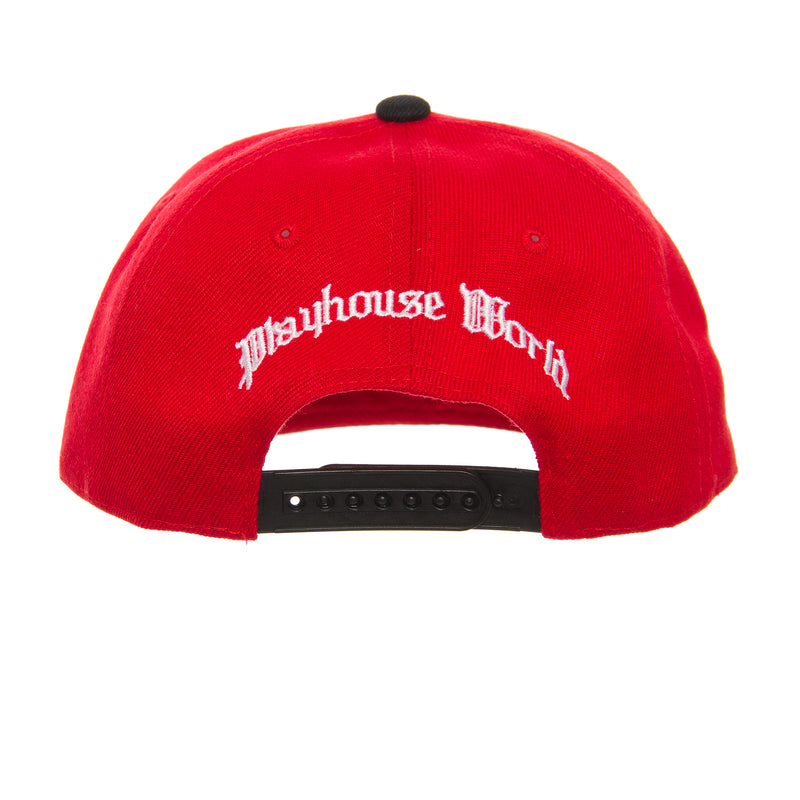 WISH X PLAYHOUSE WORLD Clark Atlanta University SNAPBACK Hat