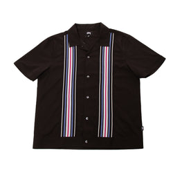 Stussy Deluxe Striped Knit Panel Shirt