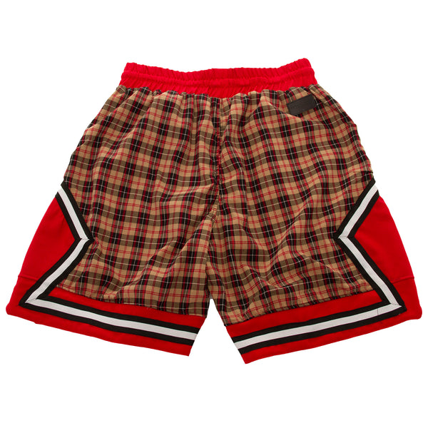 Mojave Plaid Basketball Short by Norwood Chapters