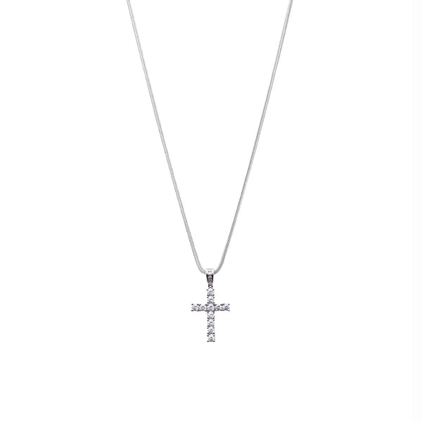 Silver Medium Cross