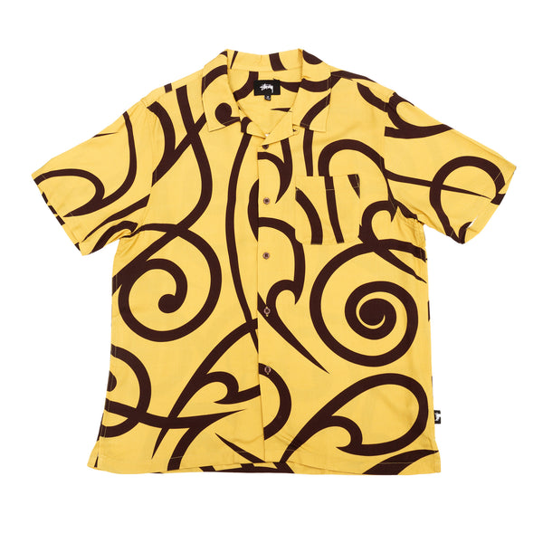 Stussy Tribal Pattern Shirt