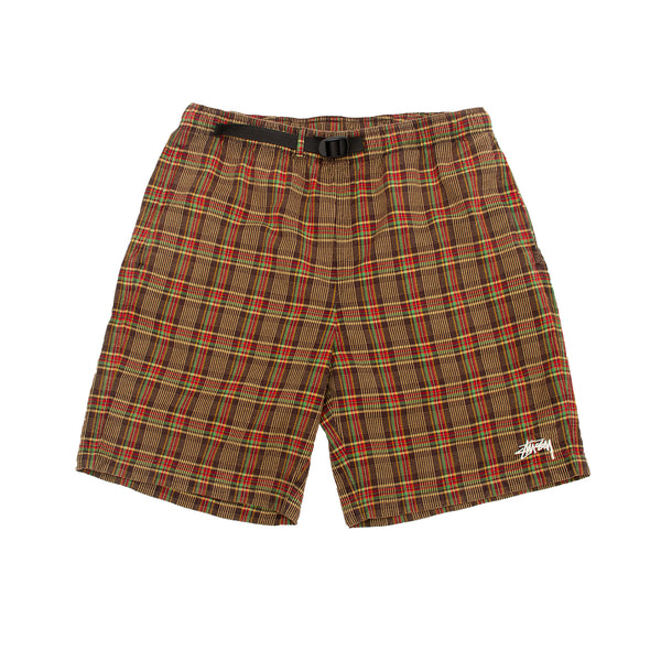 Stussy Plaid Mountain Short