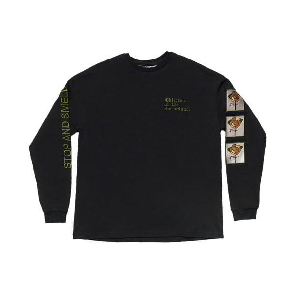 COTD Rose Embroidered L/S Tee