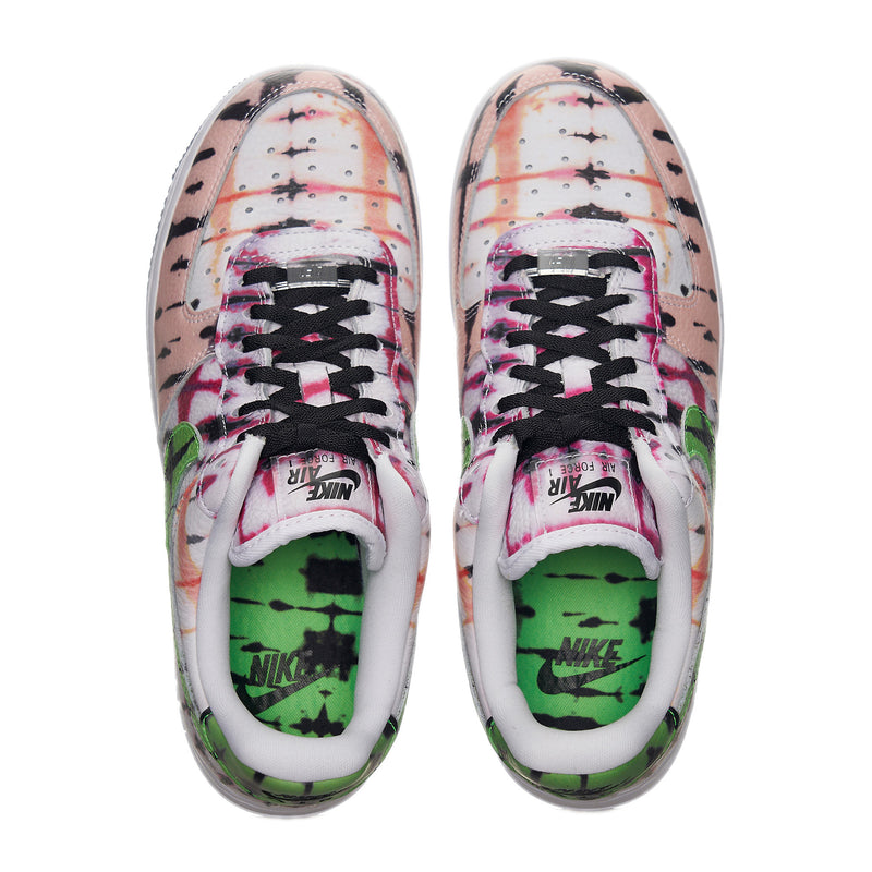 "Women's Nike AF1 Low ""Black Tie-Dye"""