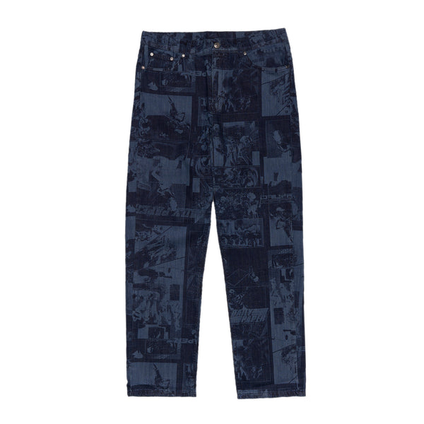 DP Lazered Denim Jarzeb Pants