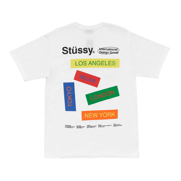 Stussy City Banners Tee