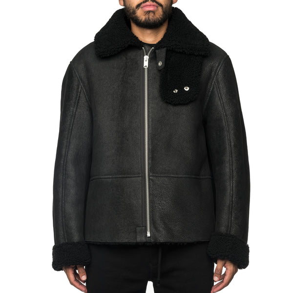 Shearling Flight Coat