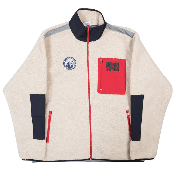 Sherpa Fleece Zip Through