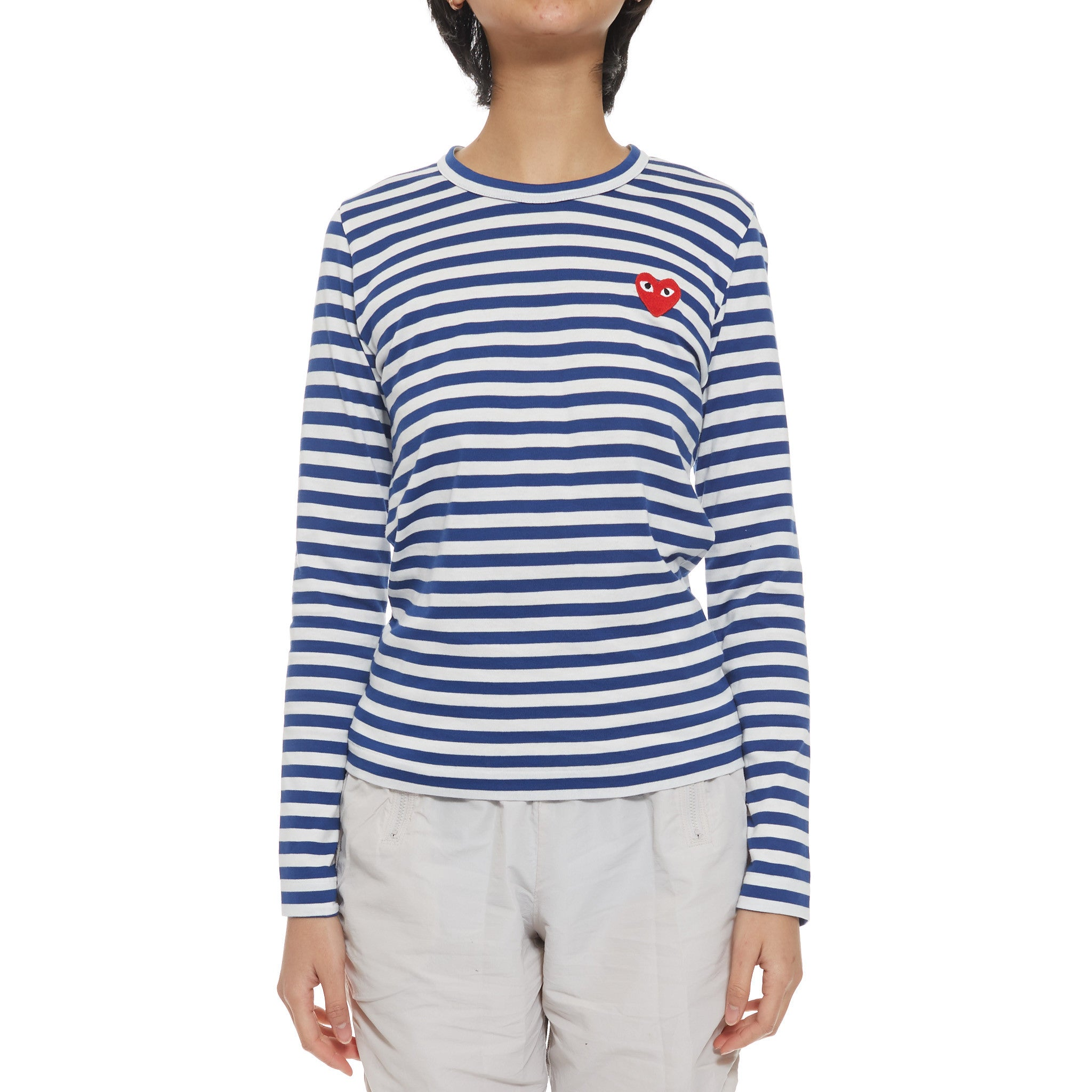 Red Heart Play Striped Tee