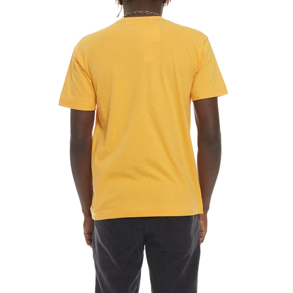 Yellow Play Red Heart Tee