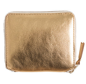 Gold Full Zip Wallet