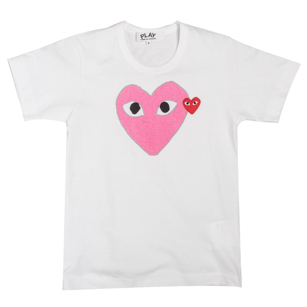 Pink & Red Hearts Tee