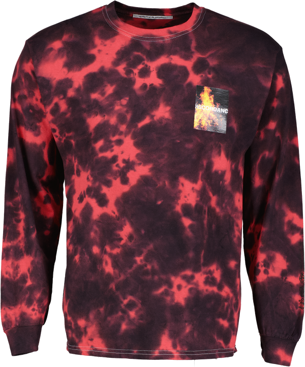 Tie-Dye Logo Long Sleeve Tee