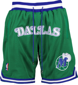 Mitchell & Ness x Just Don DALLAS MAVERICKS Shorts