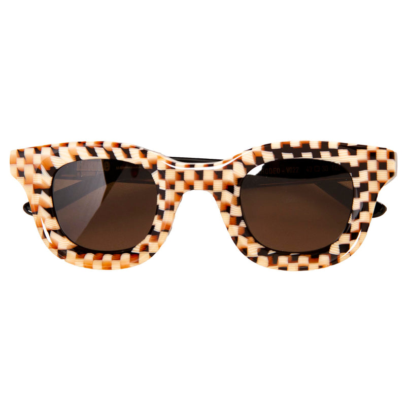 Rhude x Thierry Lasry Rhodeo Checked Sunglasses