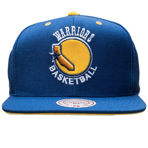 GS Warriors Solid Velour Snap